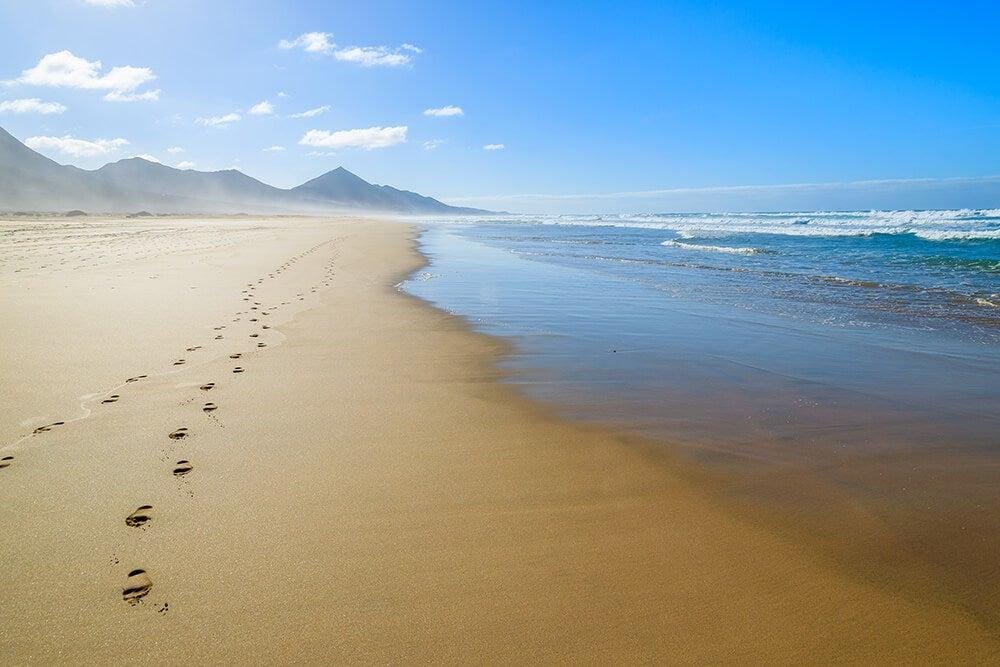 Lugares para visitar en la isla de Fuerteventura en Canarias