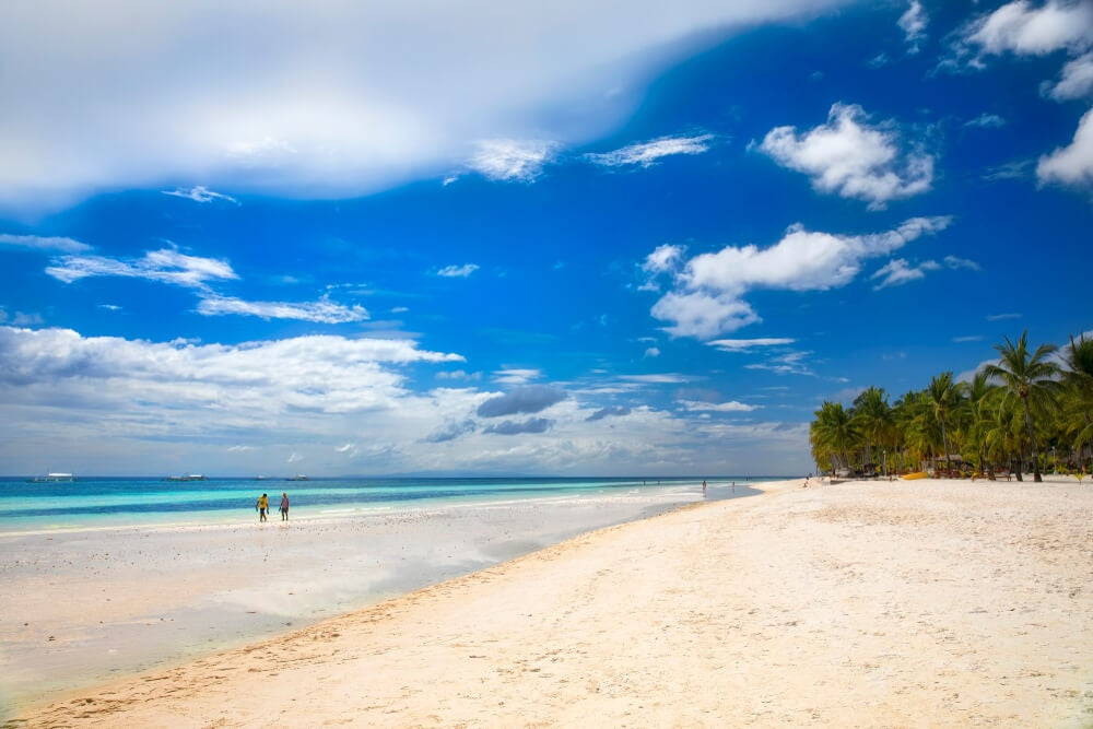 Playa de Dumaluan en Bohol