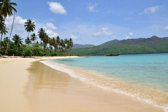 Playa rincón en Samaná
