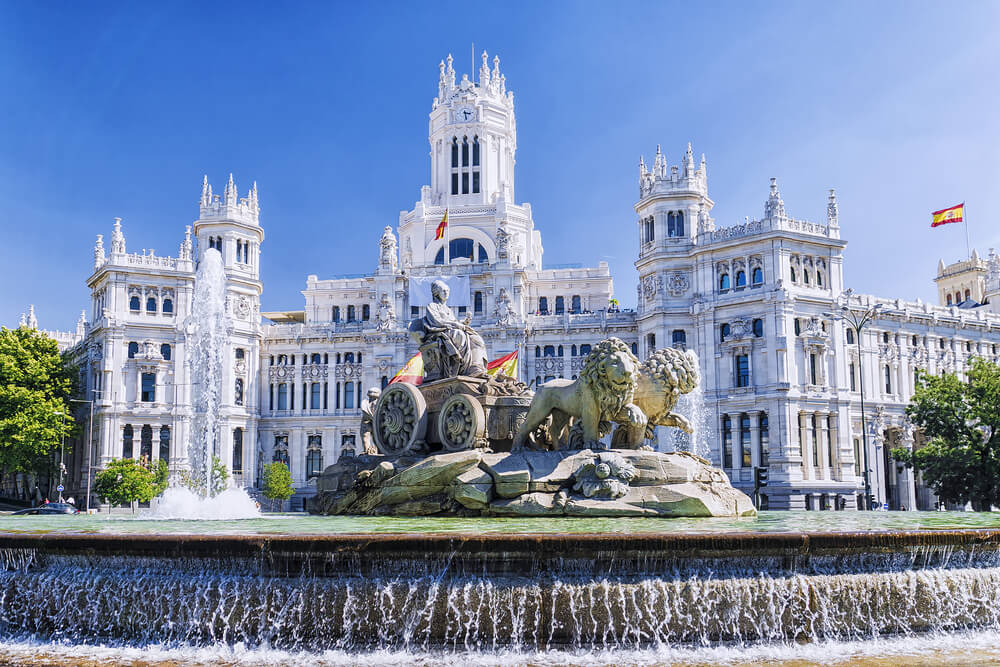 Cómo llegar a la plaza de Cibeles en Madrid