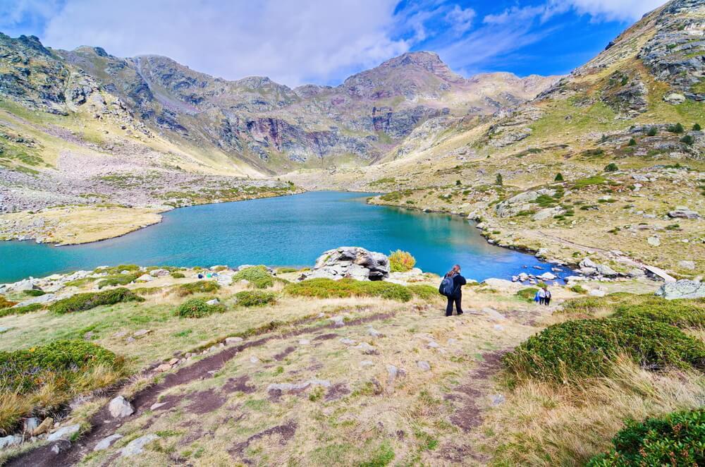 Primer lago de Tristaina