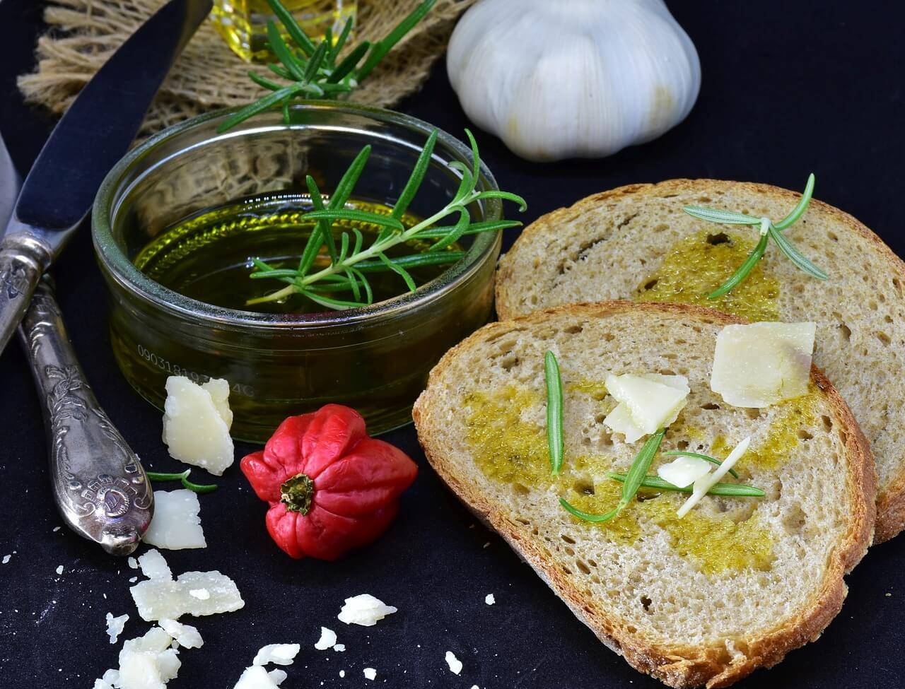 Productos de la gastronomía mediterránea