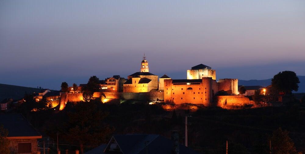 Vista de Puebla de Sanabria en Zamora