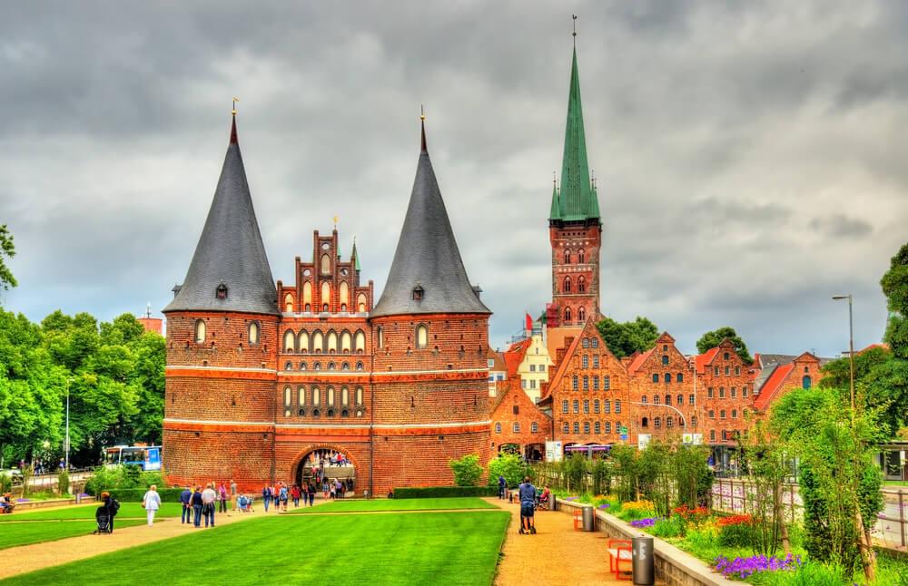 Puerta de Holsten en Lübeck