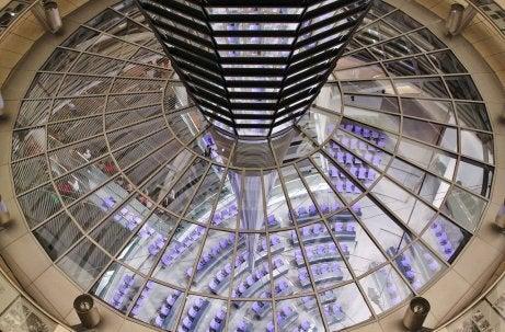 Vista del Parlamento desde la cúpula