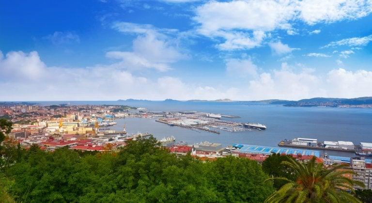 La ría de Vigo y los paisajes naturales que la rodean