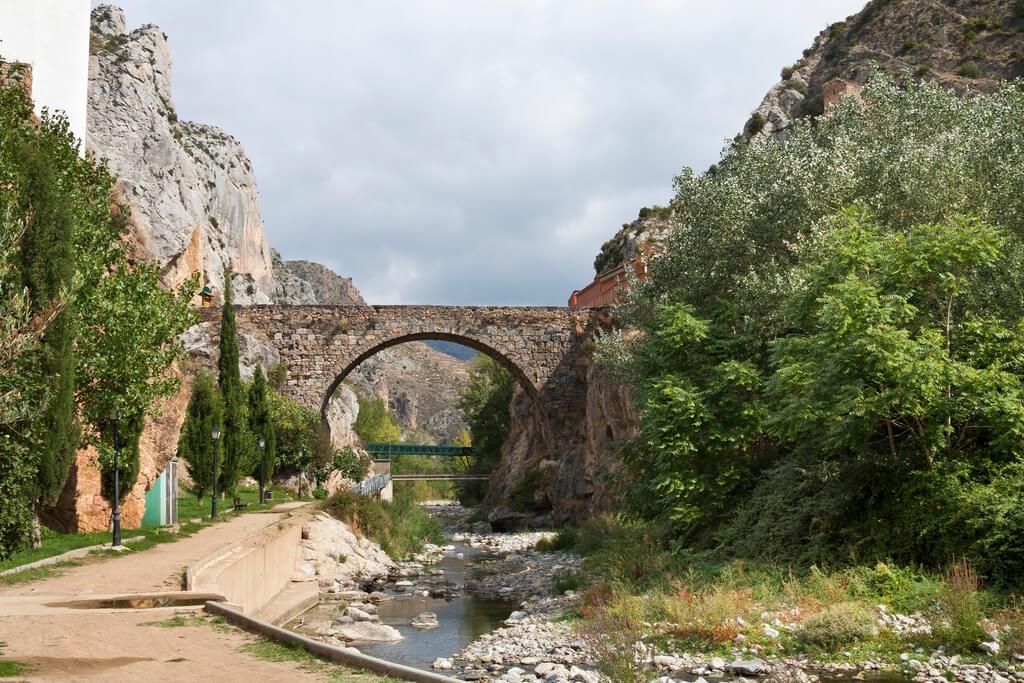 Río Cidacos en La Rioja