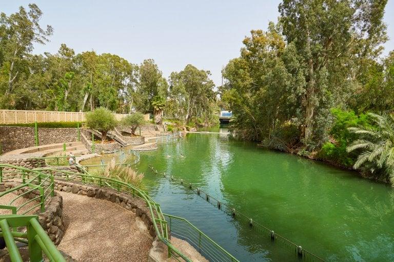 Betania, lugar del bautismo de Cristo en el río Jordán
