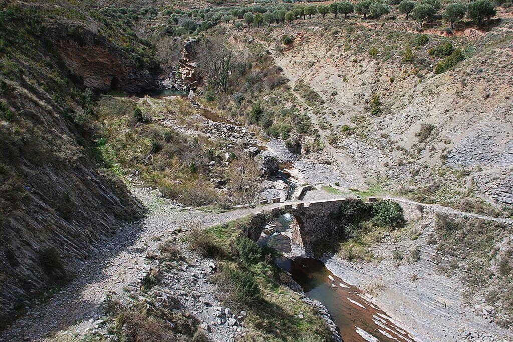 Río Jubera en La Rioja