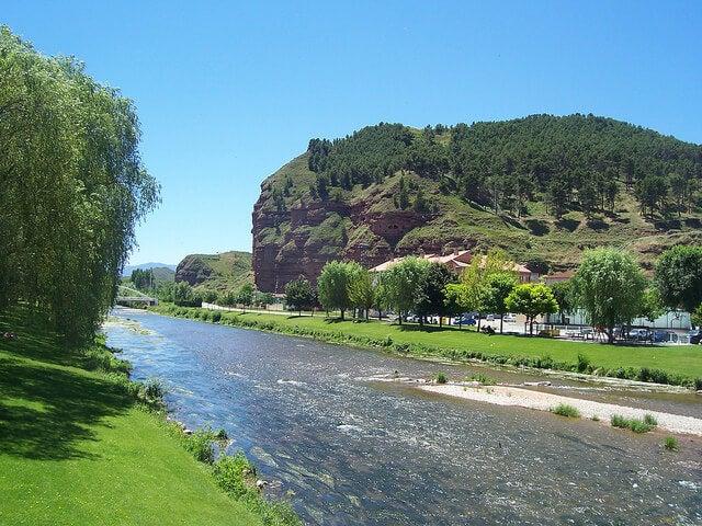 Río Najerilla en La Rioja