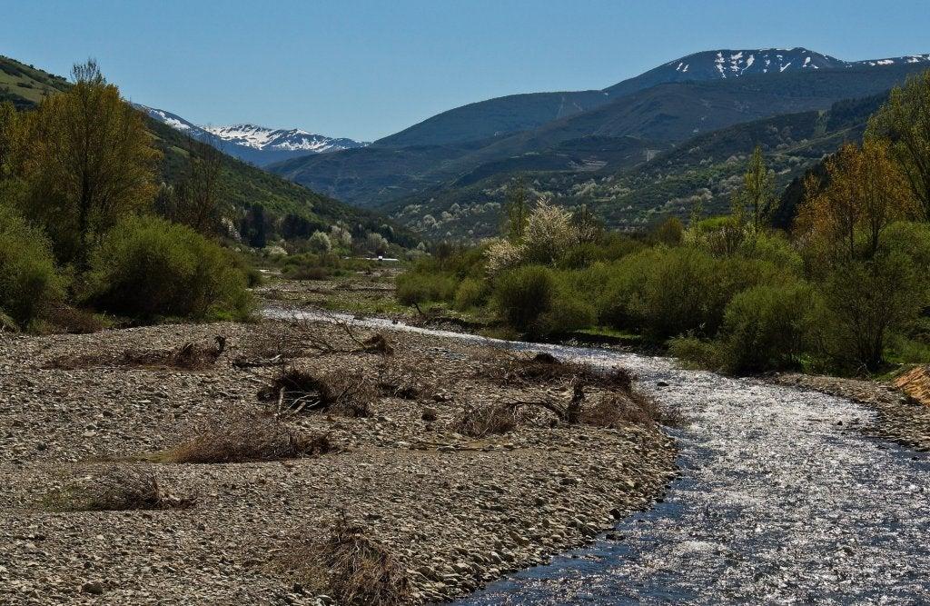 Río Oja en La Rioja