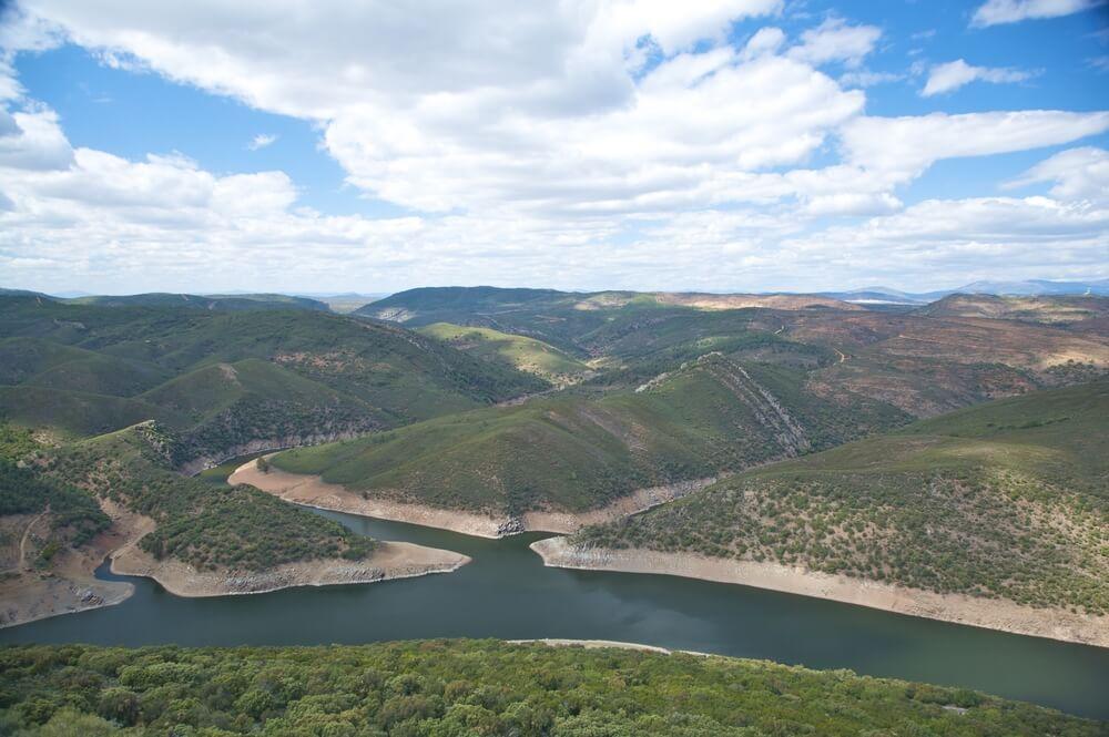 Río Tajo en Monfragüe