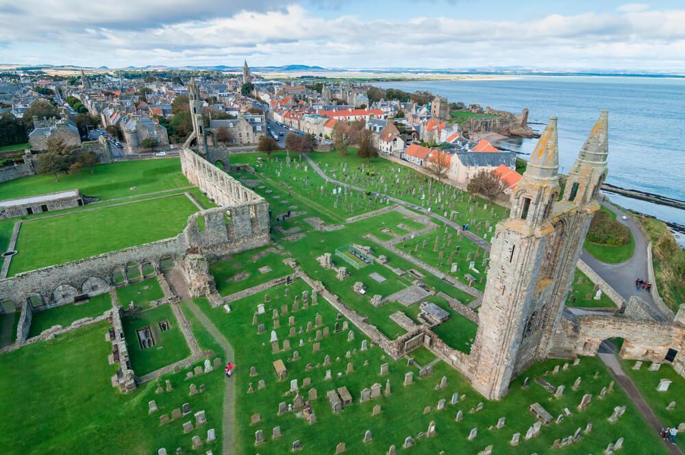 Saint Andrews, uno de los lugares de Escocia que hay que visitar