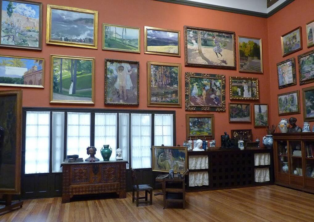 Sala del Museo Sorolla de Madrid