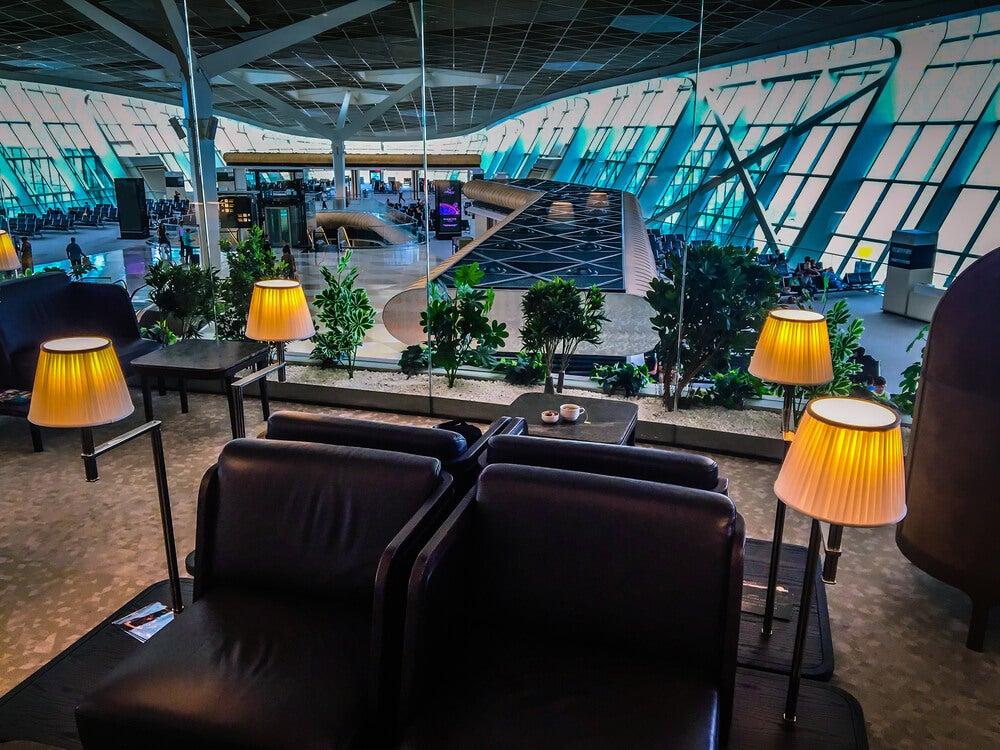 Sala vip. en el aeropuerto de Baku