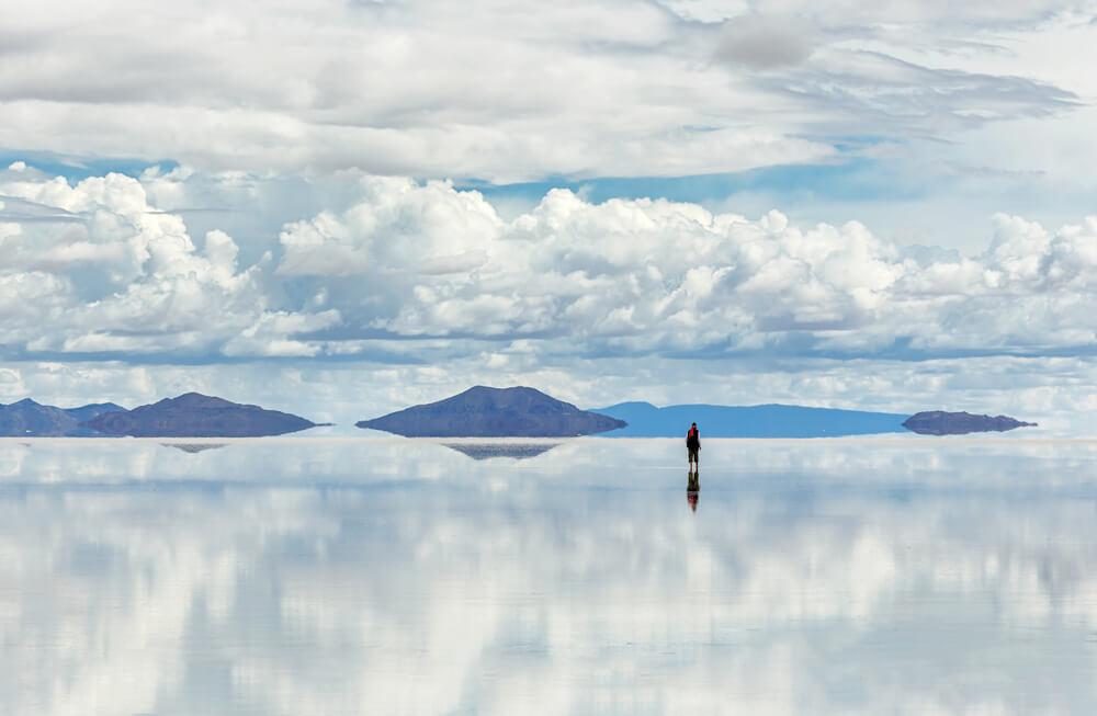 Salar de Uyuni uno de las salinas de Bolivia