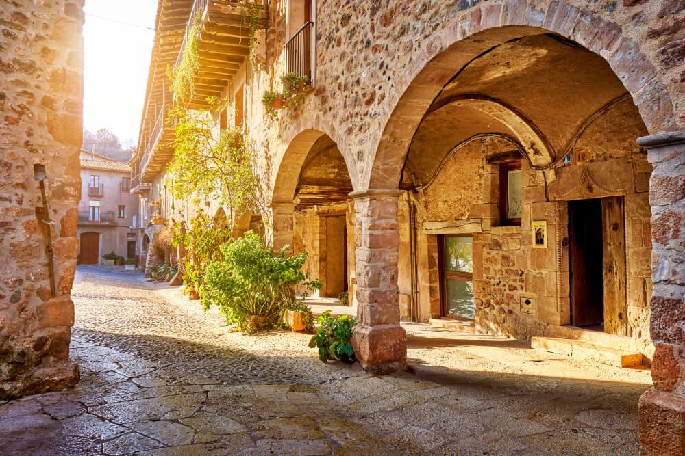 Calle de Santa Pau en Girona