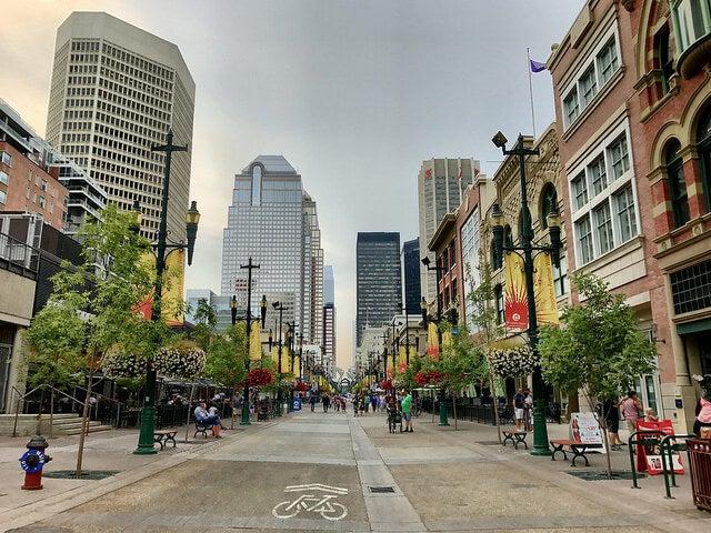 Stephen Avenue de Calgary