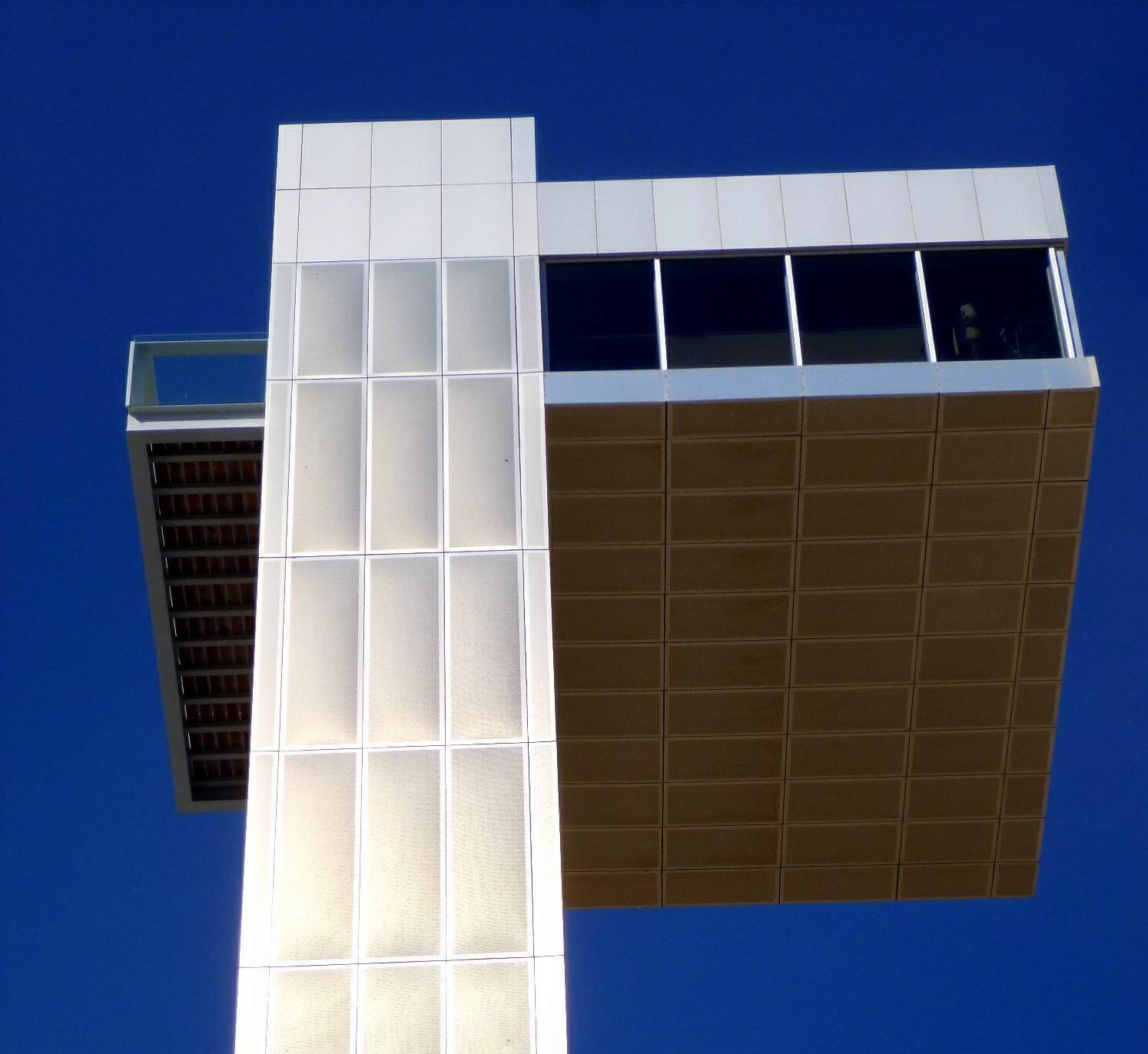 Plataforma superior de la torre