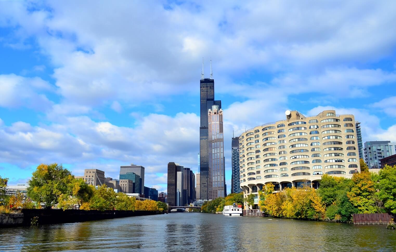 Torre Willis en Downtown Chicago