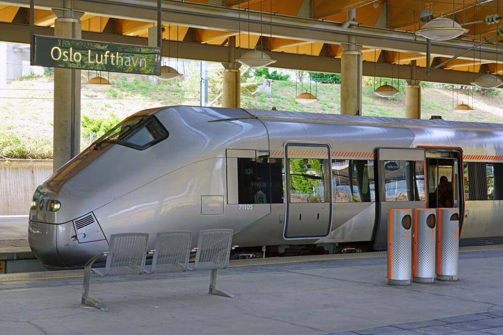 Ventajas del tren express del aeropuerto de Oslo