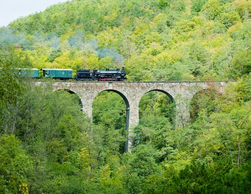 Viaducto de Zampach en la República Checa