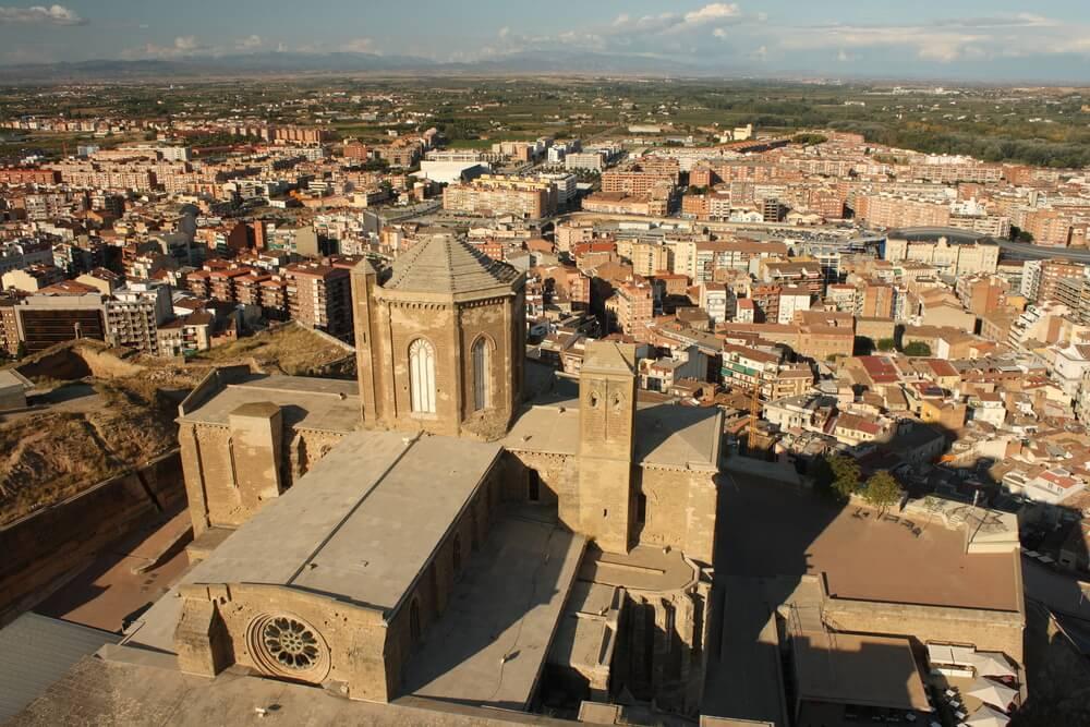Vista desde la Seu Vella de Lleida
