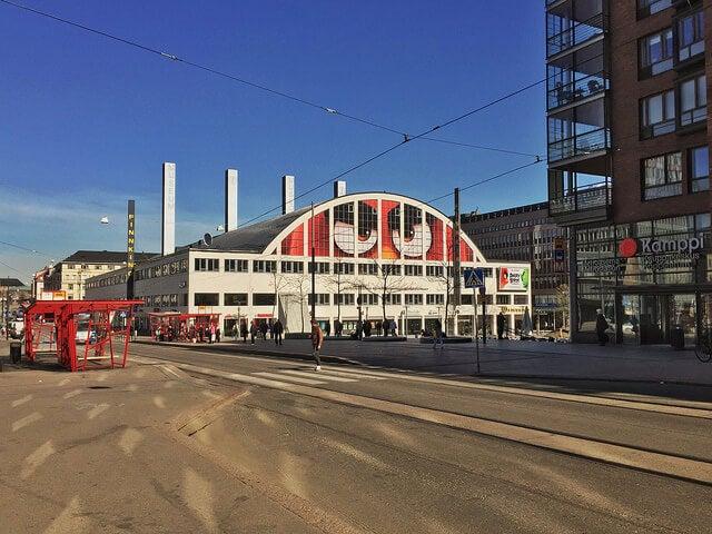 Barrio de Kampi en Helsinki