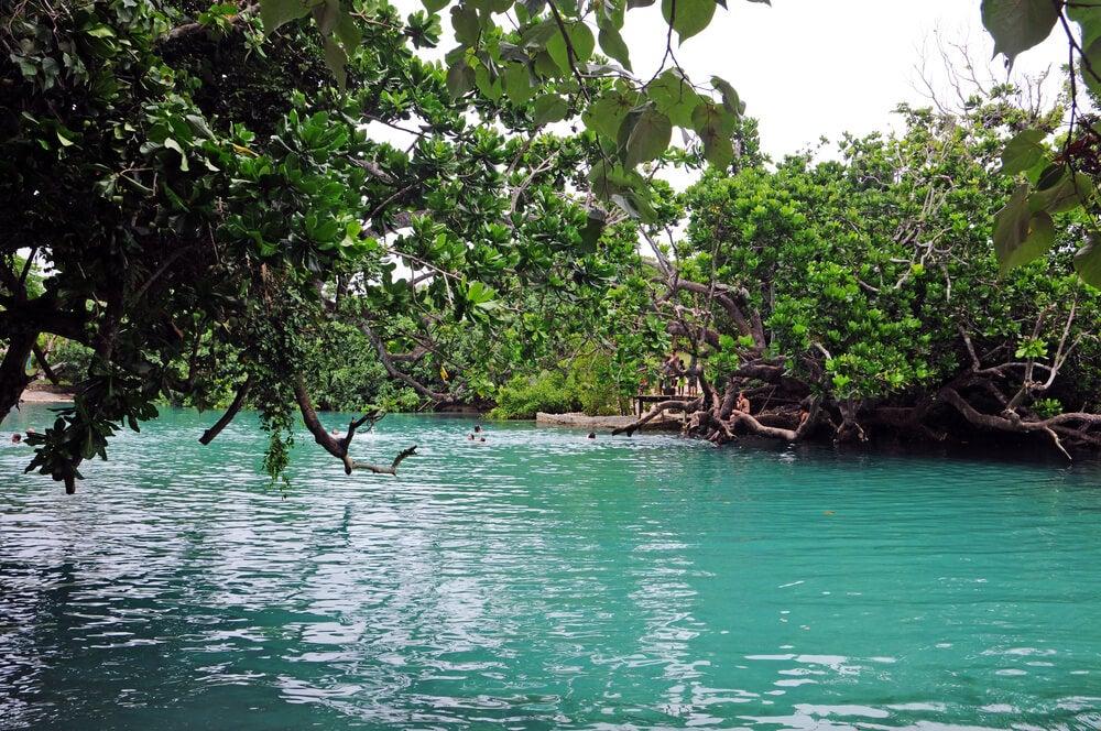 Blue Lagoon en Port Vila