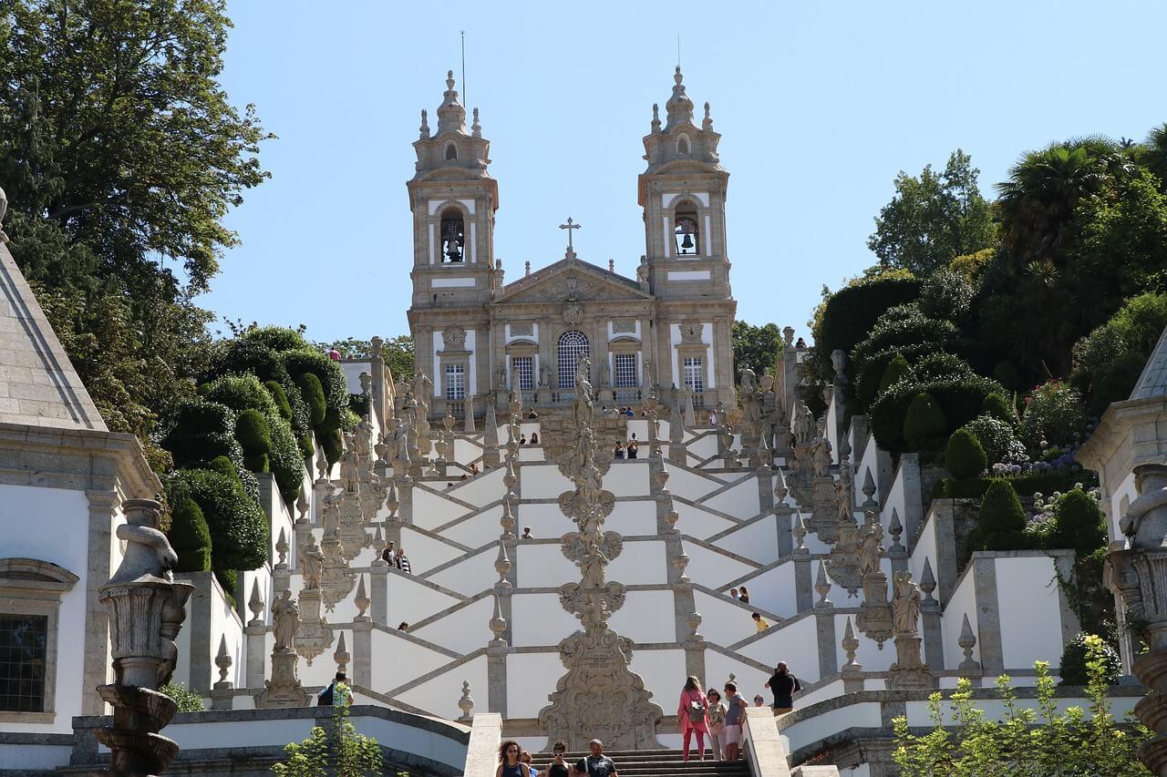 Santuario de Bom Jesus do Monte en Braga