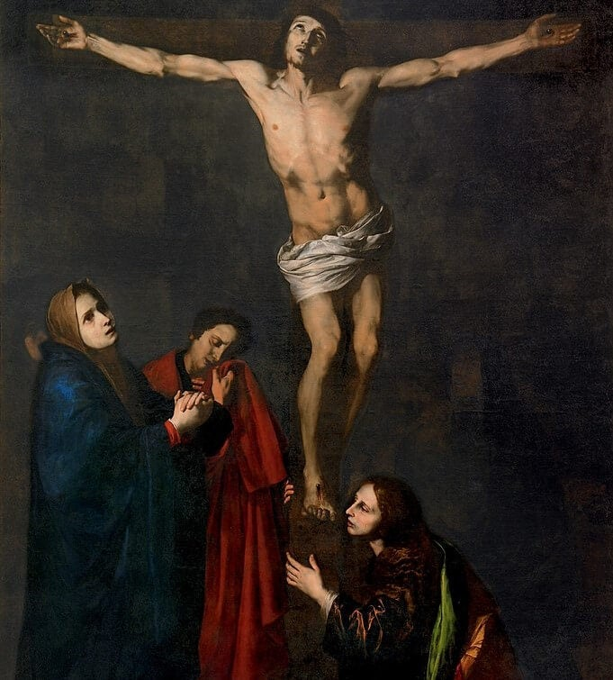 """""""Cristo de la Expiración"""" de José de Ribera"""
