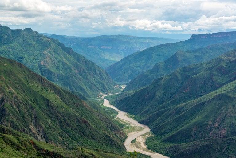 Conoce el cañón del Chicamocha en Colombia
