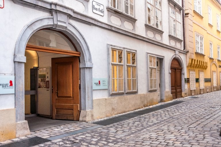 Visita la Casa Museo de Mozart en Viena
