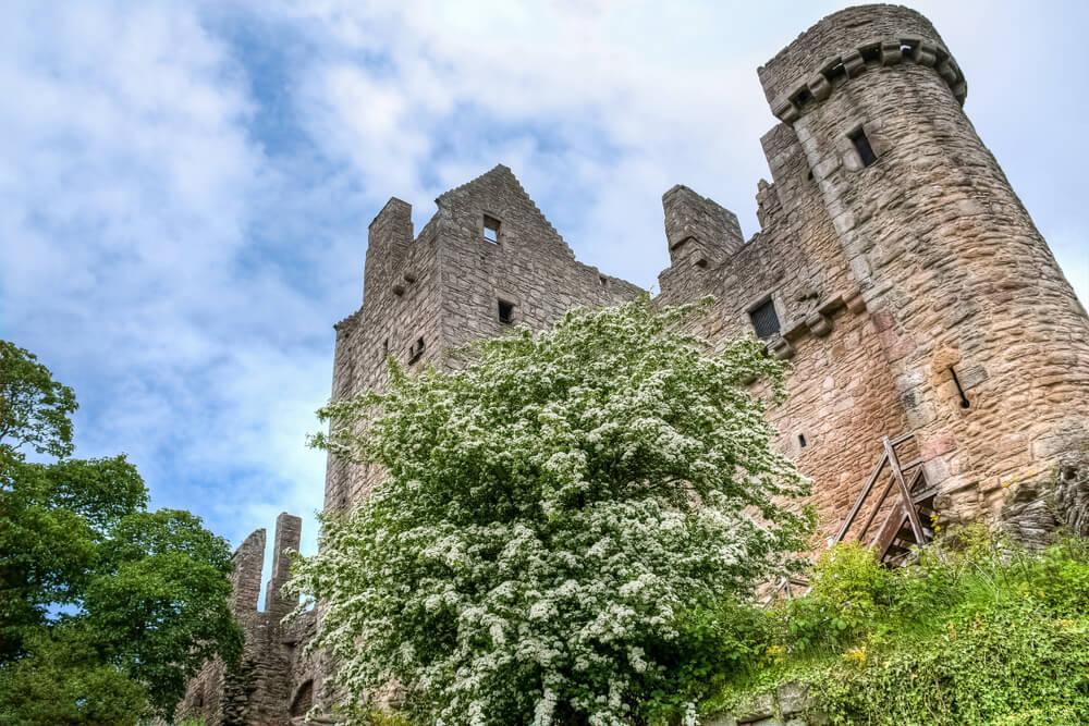 Castillo de Craigmillar en la ruta de Outlander