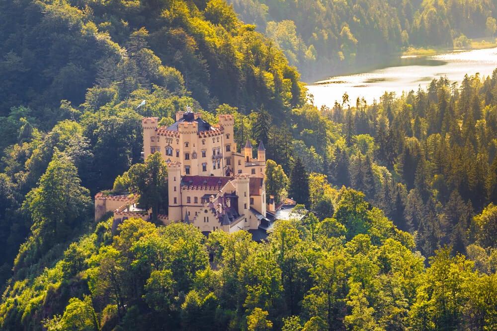 Castillo de Hohenschwangau, uno de los castillos de Baviera
