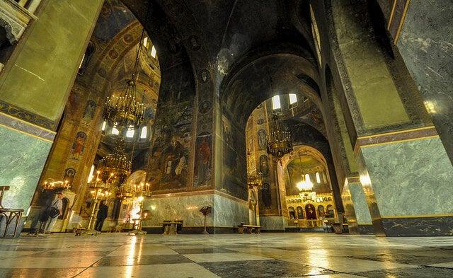 Interior de la catedral de Sofía