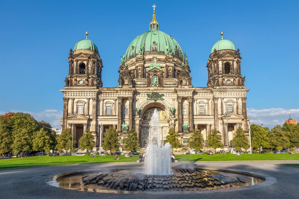 Fachada de la catedral de Berlín