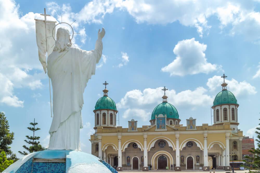 Catedral de Medhane Alem en Addis Abeba