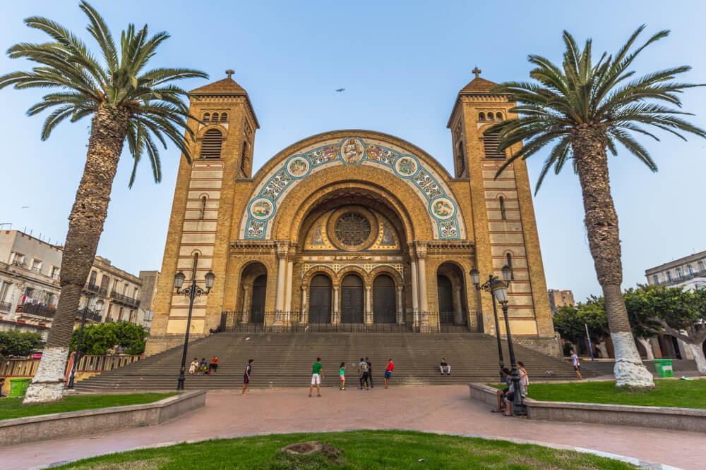 Catedral de Orán en Argelia