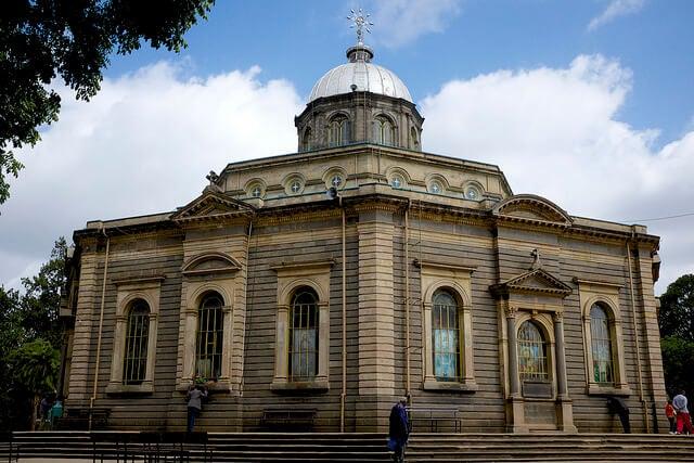 Catedral de San Jorge en Addis Abeba