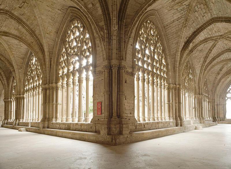 Claustro de la catedral gótica de Lleida