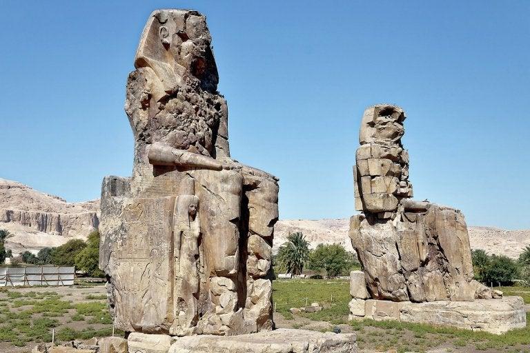 Los Colosos de Memnón en Luxor, qué debes saber antes de ir
