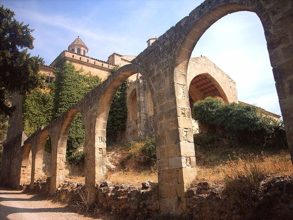 Convento de San Salvador en Horta de San Juan