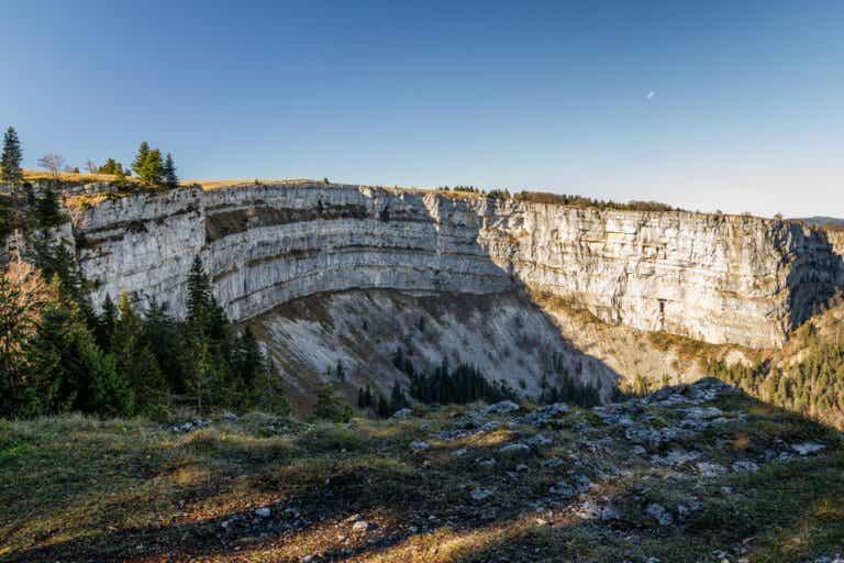 Creux du Van, una maravilla natural en Suiza