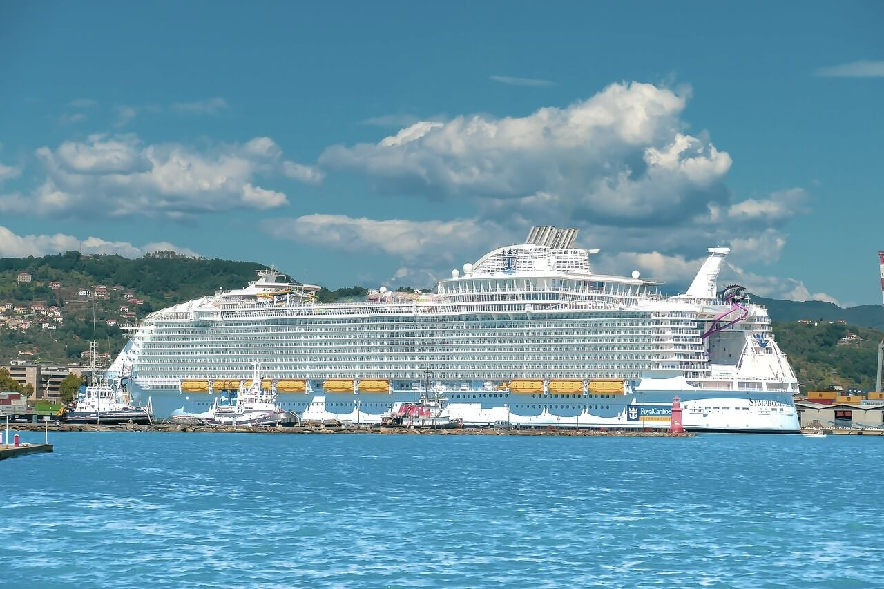 Crucero en puerto