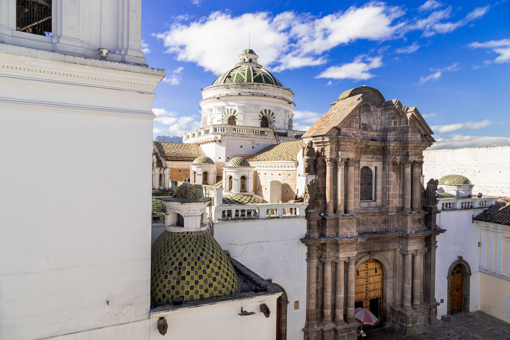 Cúpula de la Iglesia de la Compañía en Quito