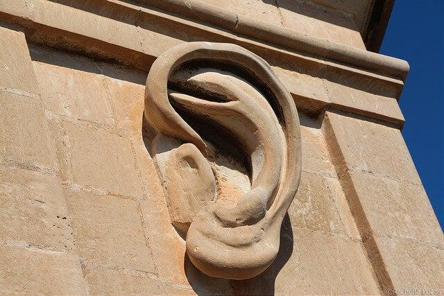 Detalle del torreón de Senglea