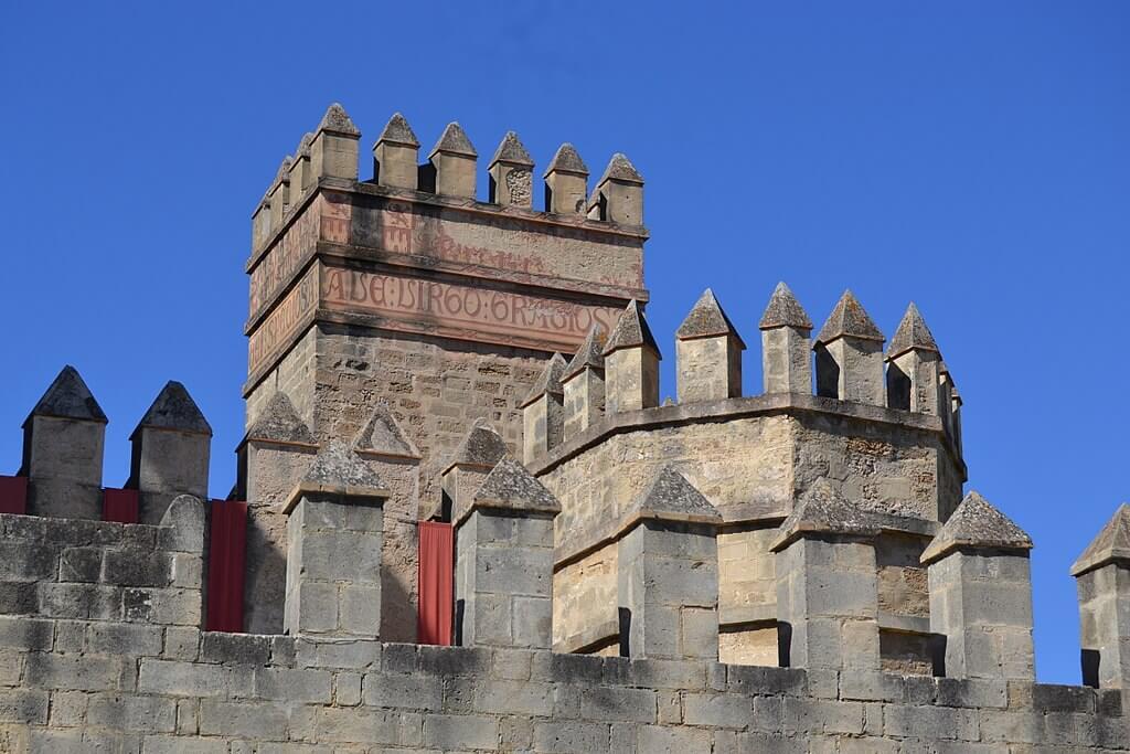 Detalle de las almenas del castillo de San Marcos