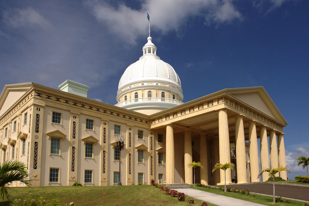 Edificio del Gobierno en Melekeok