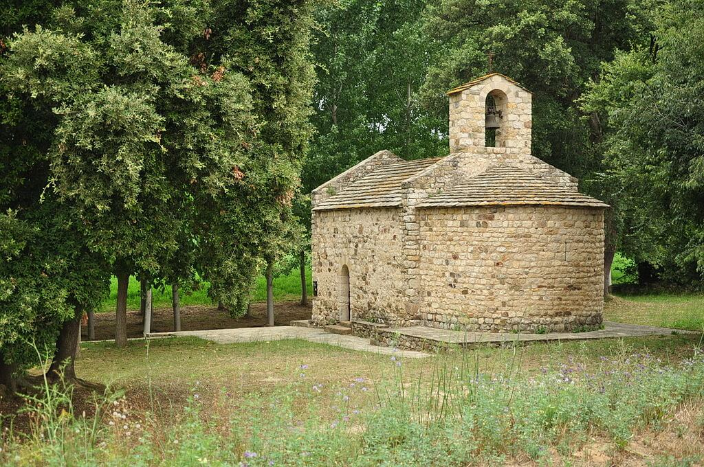 Ermita de Sant Joan de Selelles en Monells